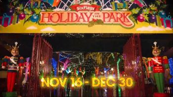 Six Flags Cyber Sale TV Spot, 'Holiday in the Park' - Thumbnail 2