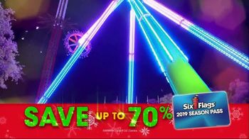 Six Flags Cyber Sale TV Spot, 'Holiday in the Park' - Thumbnail 7