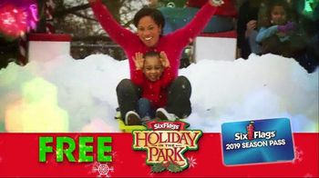 Six Flags Cyber Sale TV Spot, 'Holiday in the Park' - Thumbnail 8