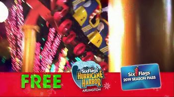 Six Flags Cyber Sale TV Spot, 'Holiday in the Park' - Thumbnail 9