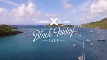 Celebrity Cruises Black Friday Sale TV Spot, 'Open Your World' - Thumbnail 2