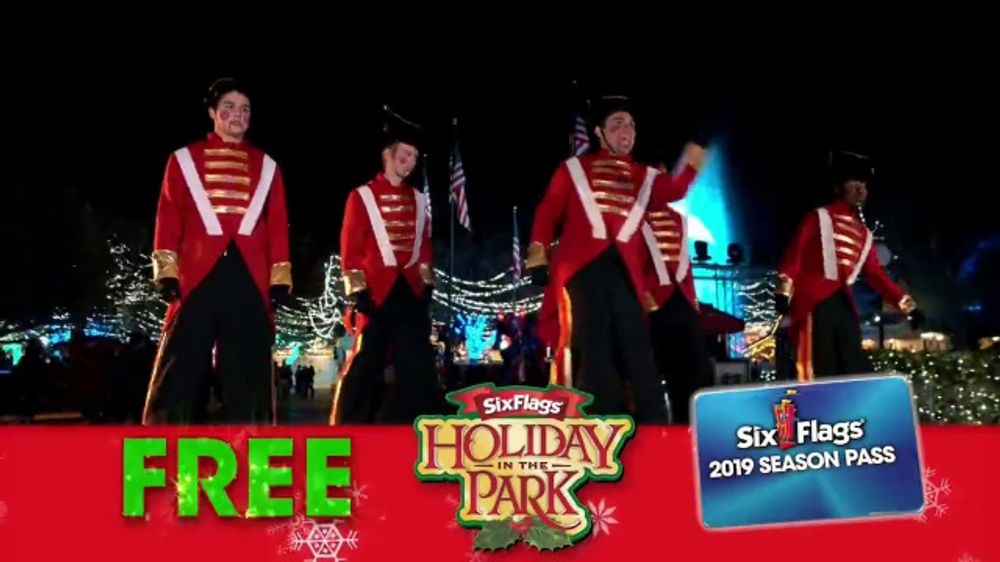Six Flags Cyber Sale TV Commercial, 'Holiday in the Park: 65 Percent Off'