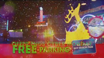 Six Flags Cyber Sale TV Spot, 'Holiday in the Park: 65 Percent Off' - Thumbnail 10