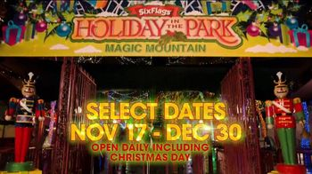 Six Flags Cyber Sale TV Spot, 'Holiday in the Park: 65 Percent Off' - Thumbnail 2