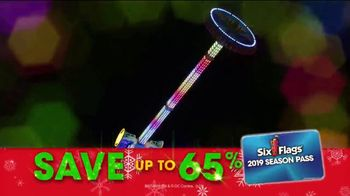 Six Flags Cyber Sale TV Spot, 'Holiday in the Park: 65 Percent Off' - Thumbnail 6