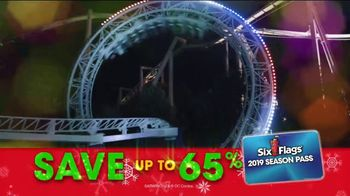 Six Flags Cyber Sale TV Spot, 'Holiday in the Park: 65 Percent Off' - Thumbnail 7