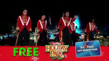 Six Flags Cyber Sale TV Spot, 'Holiday in the Park: 65 Percent Off' - Thumbnail 8