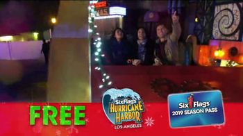Six Flags Cyber Sale TV Spot, 'Holiday in the Park: 65 Percent Off' - Thumbnail 9