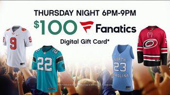 Ashley HomeStore Black Friday Main Event TV Spot, 'Fanatics Card' - Thumbnail 7