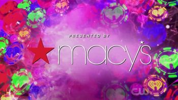 Macy's TV Spot, 'The CW: iHeartRadio Star Moments' Featuring James Maslow, Ryan Seacrest - Thumbnail 10