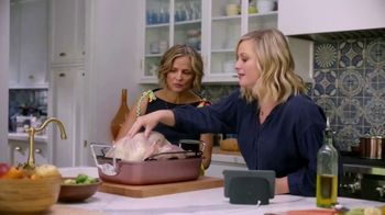 Google Home Hub TV Spot, 'Girls Only Friendsgiving' Featuring Amy Poehler, Chelsea Peretti