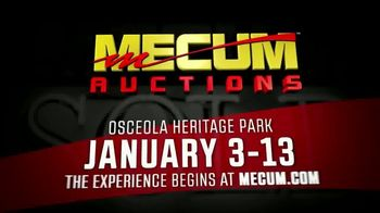 Mecum Auctions TV Spot, '2019 Osceola Heritage Park' - Thumbnail 8