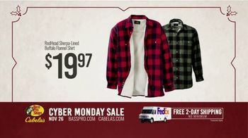 Bass Pro Shops Cyber Monday Sale TV Spot, 'Flannel Shirts and Binoculars' - Thumbnail 7