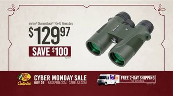 Bass Pro Shops Cyber Monday Sale TV Spot, 'Flannel Shirts and Binoculars' - Thumbnail 8