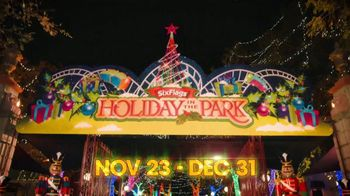 Six Flags Cyber Sale TV Spot, 'Holiday in the Park: Gold Upgrade' - Thumbnail 1