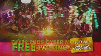 Six Flags Cyber Sale TV Spot, 'Holiday in the Park: Gold Upgrade' - Thumbnail 10