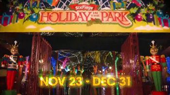 Six Flags Cyber Sale TV Spot, 'Holiday in the Park: Gold Upgrade'