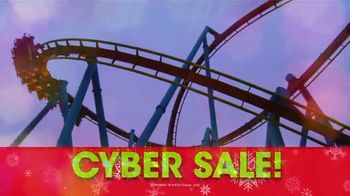 Six Flags Cyber Sale TV Spot, 'Holiday in the Park: Gold Upgrade' - Thumbnail 5