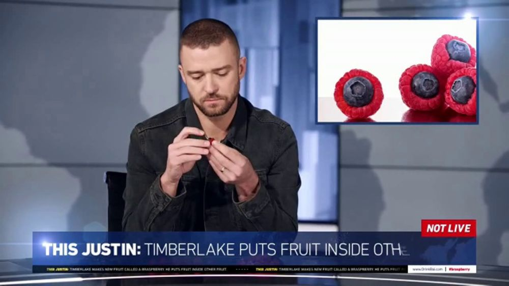 Bai TV Commercial, 'This Just In' Featuring Justin Timberlake, Brian Huskey