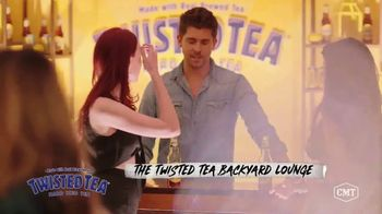 Twisted Tea TV Spot, 'CMT: Backyard Lounge' Featuring Dierks Bentley - Thumbnail 1