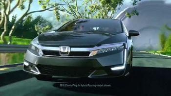 2018 Honda Clarity Plug-in Hybrid TV Spot, 'Beyond the Battery' [T1] - Thumbnail 3
