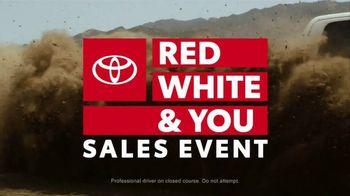 Toyota Red White & You Sales Event TV Spot, '2018 Tacoma' [T2] - Thumbnail 2
