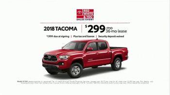 Toyota Red White & You Sales Event TV Spot, '2018 Tacoma' [T2] - Thumbnail 5