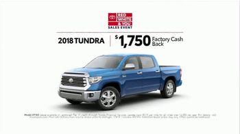 Toyota Red White & You Sales Event TV Spot, '2018 Tacoma' [T2] - Thumbnail 6