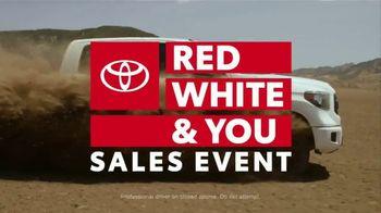Toyota Red White & You Sales Event TV Spot, '2018 Tacoma' [T2] - Thumbnail 7