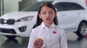 Kia America's Best Value Summer Event TV Spot, 'Donuts: Sales Tactics' [T1]