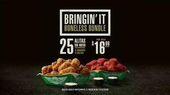 Wingstop Bringin' It Boneless Bundle TV Spot, 'Vale la pena' [Spanish] - 253 commercial airings