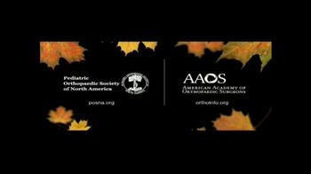 American Academy of Orthopaedic Surgeons TV Spot, 'During Childhood' - Thumbnail 9