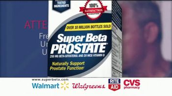 Super Beta Prostate TV Spot, \'Clinically Tested Ingredients\'