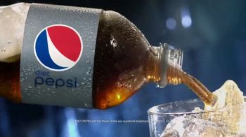 Diet Pepsi TV Spot, 'Light, Crisp, Refreshing: Pour Shot'