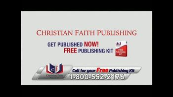 Christian Faith Publishing TV Spot, 'Get Published Now' - Thumbnail 6
