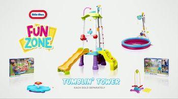 Little Tikes Fun Zone Tumblin' Tower Climber TV Spot, 'Buckets of Fun' - Thumbnail 8