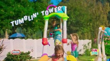 Little Tikes Fun Zone Tumblin' Tower Climber TV Spot, 'Buckets of Fun' - Thumbnail 1