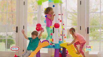 Little Tikes Fun Zone Tumblin' Tower Climber TV Spot, 'Buckets of Fun' - Thumbnail 5