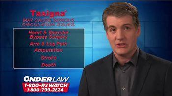 Onder Law Firm TV Spot, 'RX Watch: Tasigna' - Thumbnail 4