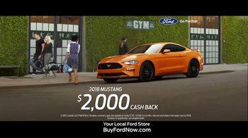 2018 Ford Mustang TV Spot, 'Bye, Sweetie' [T2] - Thumbnail 10