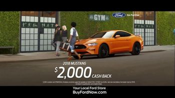 2018 Ford Mustang TV Spot, 'Bye, Sweetie' [T2] - Thumbnail 9