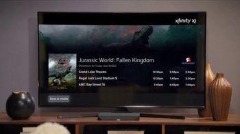 XFINITY X1 TV Spot, 'Jurassic World: Fallen Kingdom Tickets' - Thumbnail 9