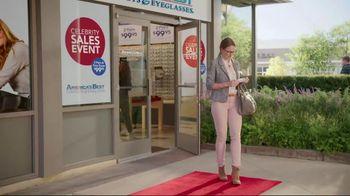 America's Best Celebrity Sales Event TV Spot, 'Designer Frames' - Thumbnail 1