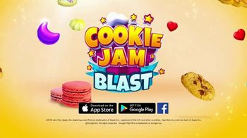 Cookie Jam Blast TV Spot, 'Sweet Treat' - Thumbnail 8
