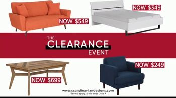 Scandinavian Designs Clearance Event TV Spot, 'July Savings' - Thumbnail 4