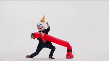 Jack in the Box Spicy Chicken Club Combo TV Spot, 'Tube Man'