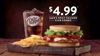 Jack in the Box Spicy Chicken Club Combo TV Spot, 'Tube Man' - Thumbnail 9