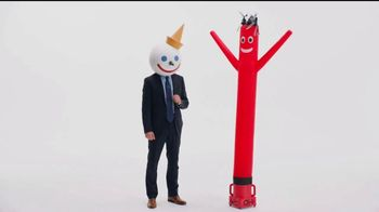 Jack in the Box Spicy Chicken Club Combo TV Spot, 'Tube Man' - Thumbnail 2