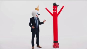 Jack in the Box Spicy Chicken Club Combo TV Spot, 'Tube Man' - Thumbnail 5