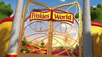 Friskies Extra Gravy Pate and Chunky TV Spot, 'Friskies World' - Thumbnail 1